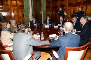 Reunión del Ministerio con la gran distribución
