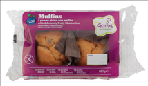 Muffins Genius Gluten Free