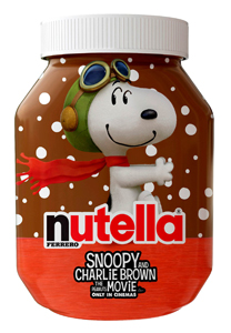 Nutella y Snoopy