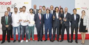 Ganadores de los premios Pascual Startup