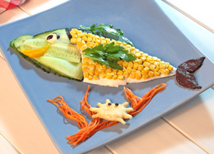 Pesca Salada, plato de Imagine Food
