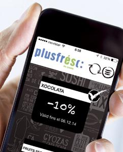 Aplicación de Plusfresc