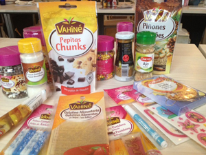 Bodegón de productos Vahiné y Ducros