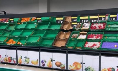 Supermercado vacio