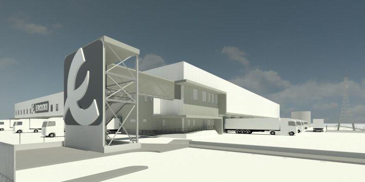 Nueva plataforma logística de Eroski