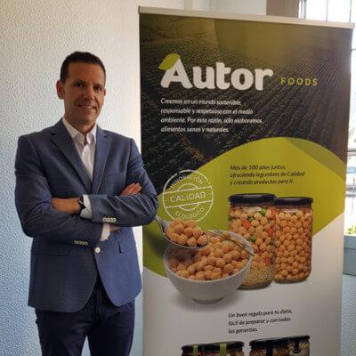 José Luis Díez, director gerente de Autor Foods. / AUTOR FOODS