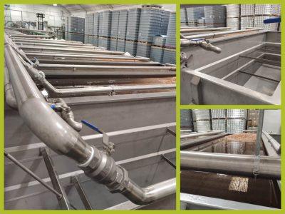 Nuevos silos de remojo instalados en Autor Foods / Autor Foods